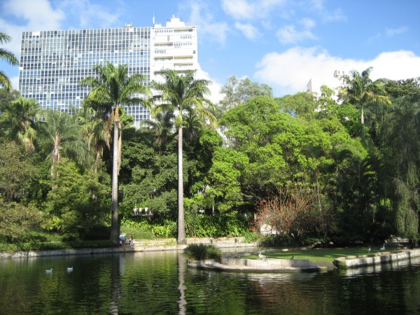 Municipal Park in Belo Horizonte, Brazil by James Milligan
